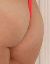 Wearing A Bright Colored One Piece Swimsuit Emily Show Whats Under That Suit - Picture 4