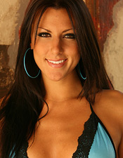 Devon Danes Removes Her Sexy Blue Bikini - Picture 4