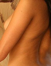 Devon Danes Removes Her Sexy Blue Bikini - Picture 12