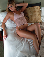 Adrienne Manning Will Tease You And Please You In Cotton Candy Pink - Picture 4