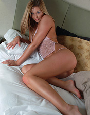 Adrienne Manning Will Tease You And Please You In Cotton Candy Pink - Picture 8